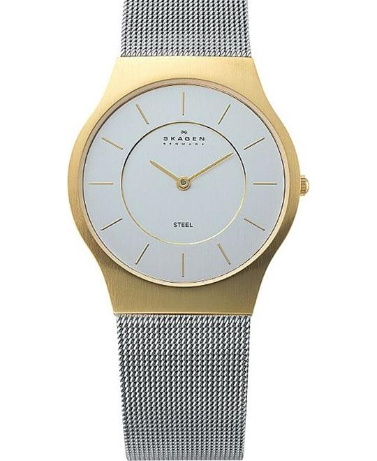 SKAGEN MEN'S SILVER WATCHES