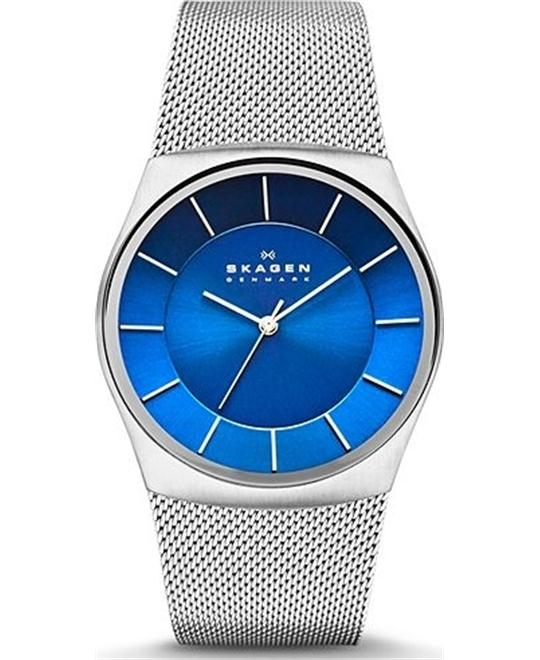 SKAGEN MEN'S THREE-HAND WATCH