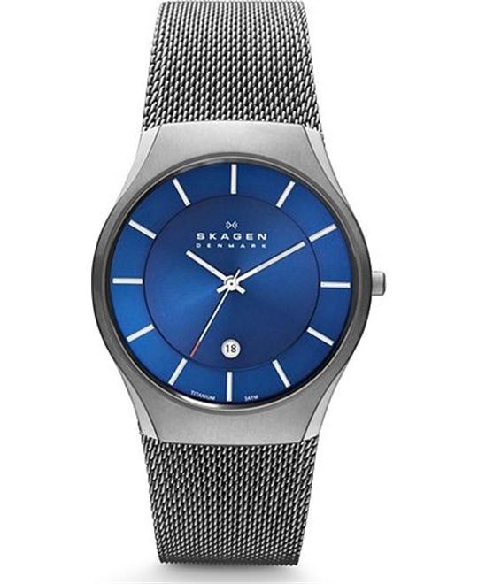 SKAGEN MEN'S TITANIUM WATCH