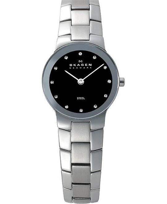 SKAGEN SILVER TONE WOMEN'S WATCH