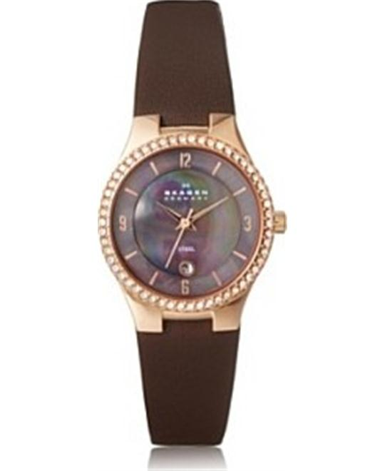 SKAGEN Swarovski Crystal Ladies Watch 28mm