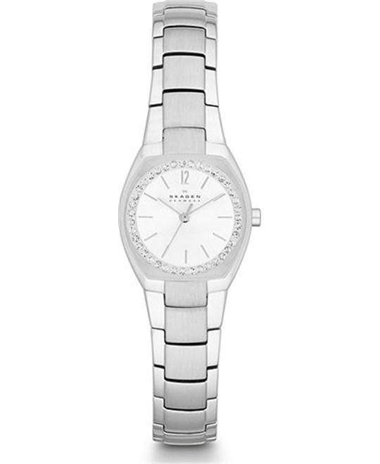 SKAGEN WOMEN'S THREE-HAND WATCH 25x22mm