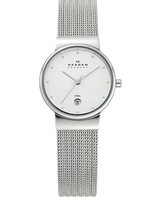 SKAGEN WOMEN'S THREE-HAND WATCH 26MM