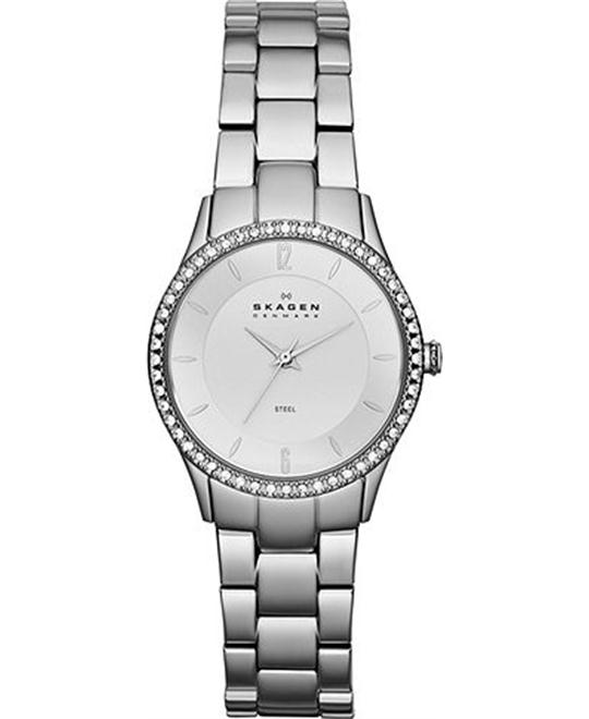 SKAGEN WOMEN'S THREE-HAND WATCH 30MM