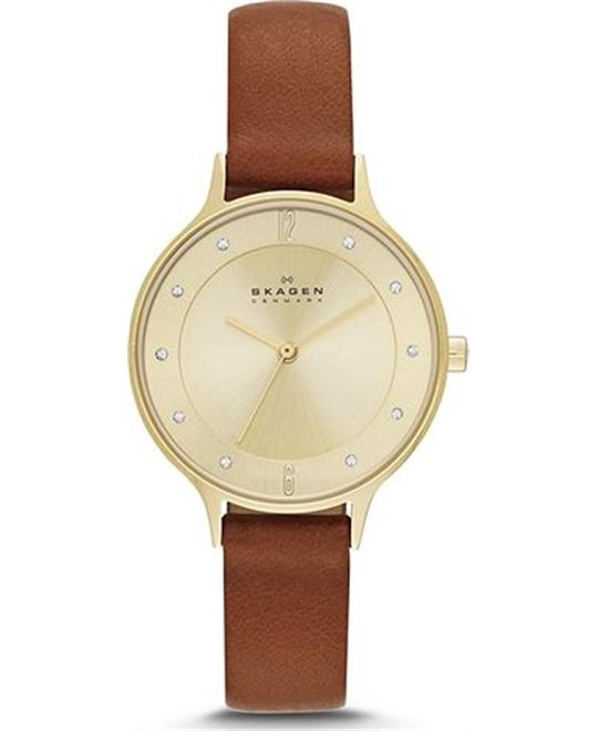 SKAGEN WOMEN'S THREE-HAND WATCH, 30mm