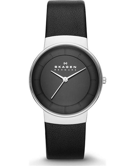 SKAGEN WOMEN'S THREE-HAND WATCH 32MM