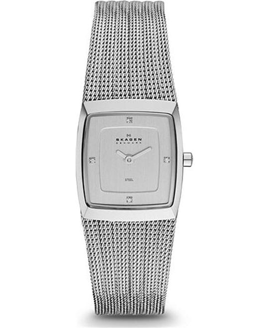 SKAGEN WOMEN'S TWO-HAND WATCH 21.5MM