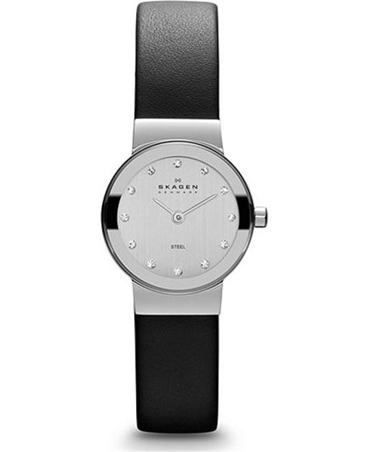 SKAGEN WOMEN'S TWO-HAND WATCH 22MM