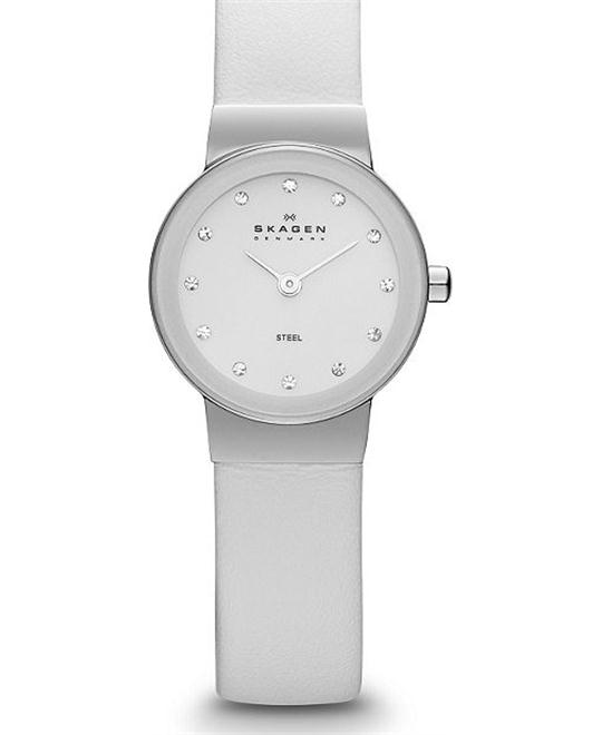 SKAGEN WOMEN'S TWO-HAND WATCH, 22MM