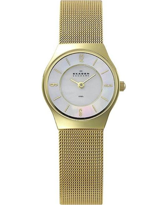 SKAGEN WOMEN'S TWO-HAND WATCH 24MM