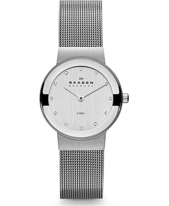 SKAGEN WOMEN'S TWO-HAND WATCH 26MM