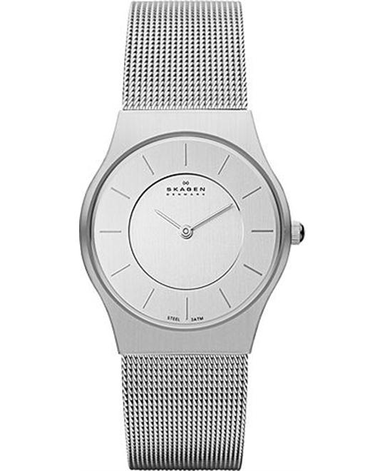 SKAGEN WOMEN'S TWO-HAND WATCH 28MM