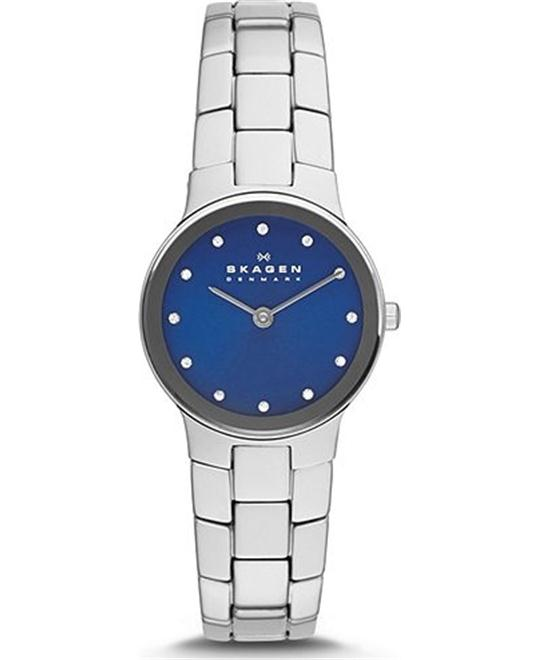 SKAGEN WOMEN'S TWO-HAND WATCH, 30MM