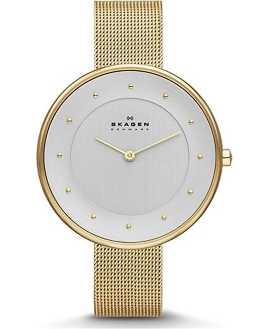 SKAGEN WOMEN'S TWO-HAND WATCH, 38MM