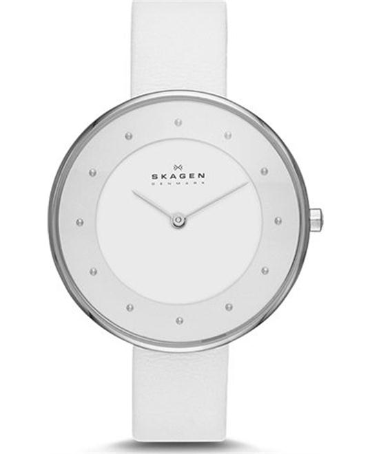 SKAGEN WOMEN'S TWO-HAND WATCH 38mm