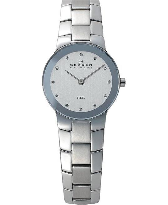 SKAGEN WOMEN'S TWO-HAND WATCH