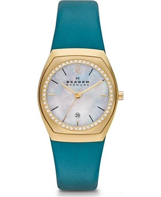 SKAGEN WOMEN'S WATCH - TURQUOISE