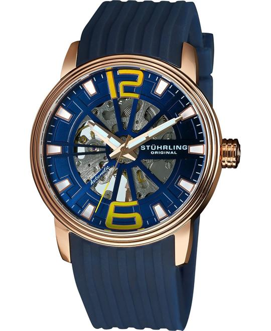 Stuhrling Original 1078.3346C6 Men's Classic Automatic Watch 44mm