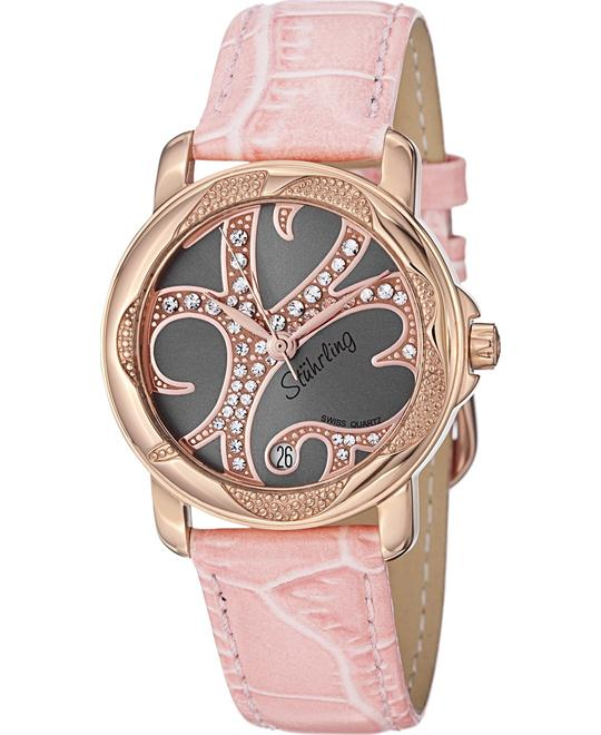 Stuhrling Original 138.124A64 Isis Swiss Swarovski Women's Watch 34mm