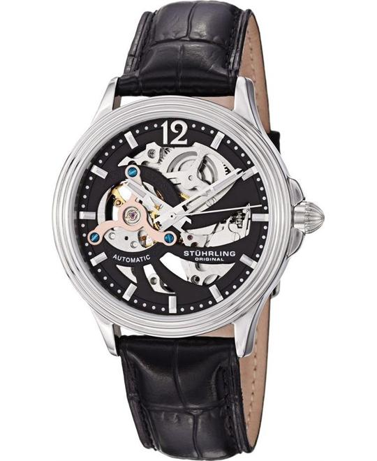 Stuhrling Original 170.33151 Delphi Helix Automatic Watch 40mm