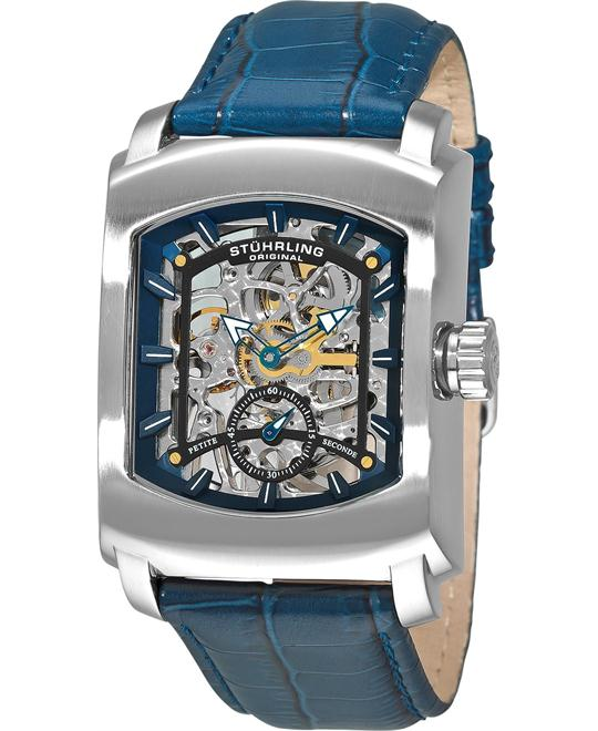 Stuhrling Original 317.3315C6 Classic Blue Watch 39x39mm