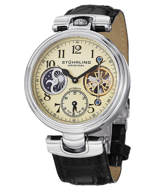 Stuhrling Original 501.01 Men's Emperor Automatic Watch 44mm