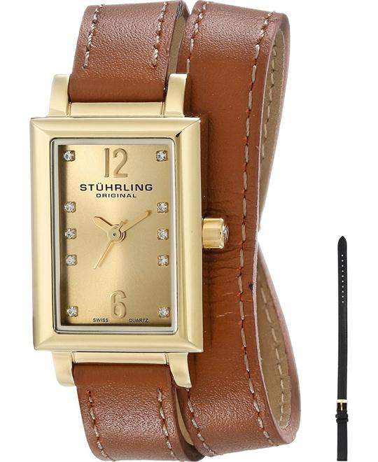 Stuhrling Original 810.SET.02 Women's 23k Watch Set 22mm