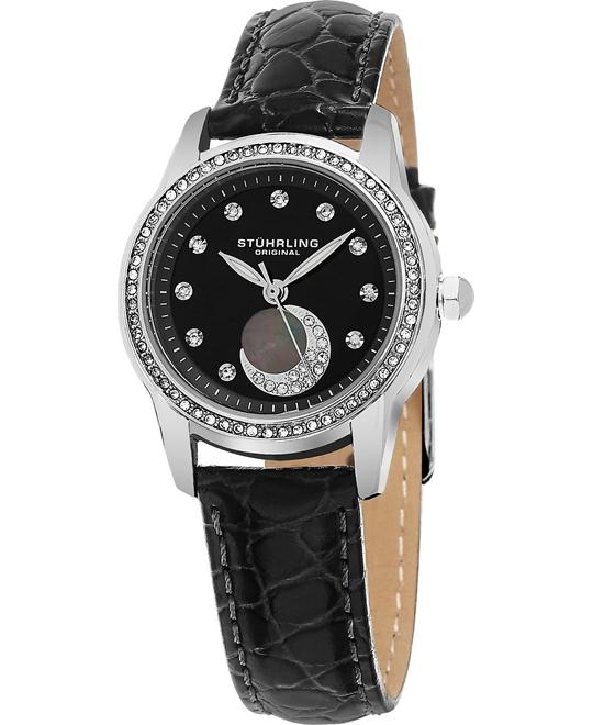Stuhrling Original  Analog Display Quartz Black Women's Watch 32mm