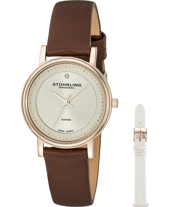 Stuhrling Original Analog Swiss Quartz Women's Watch 29mm