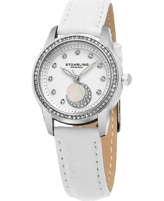 Stuhrling Original  Countess Analog Display Quartz White  Women's Watch 32mm