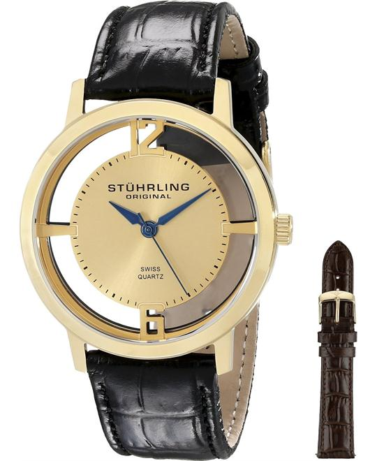 Stuhrling Original Men's 388G2.SET.02 Winchester Cathedral 23k Watch 40mm