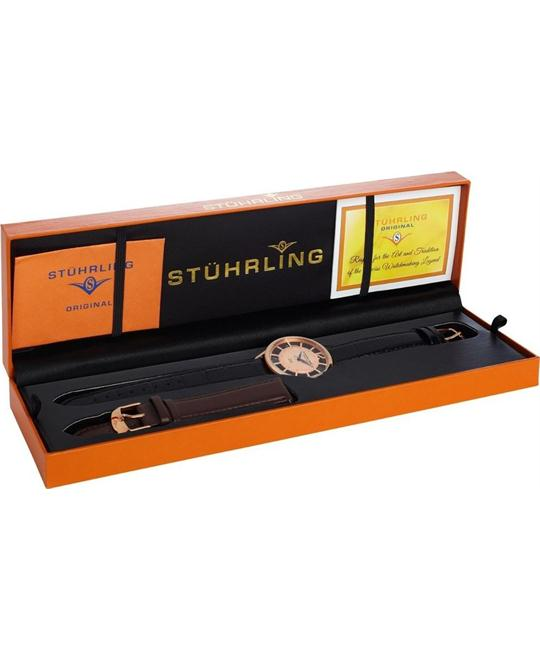 Stuhrling Original Men's 388S.334514 Classic Swiss Watch Set 40mm
