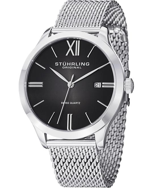 "Stuhrling Original Men's 490M.01 ""Ascot Cuvette II Elite"" Watch 42mm"