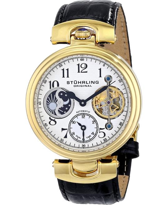 Stuhrling Original Men's 501.02 Reserve Emperor Automatic Watch 44mm
