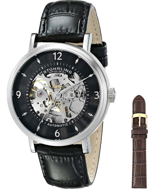 Stuhrling Original Men's 647.01SET Legacy Automatic Watch 42mm