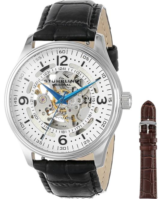 Stuhrling Original Men's 730.SET.01 Delphi Denmark Watch 42mm