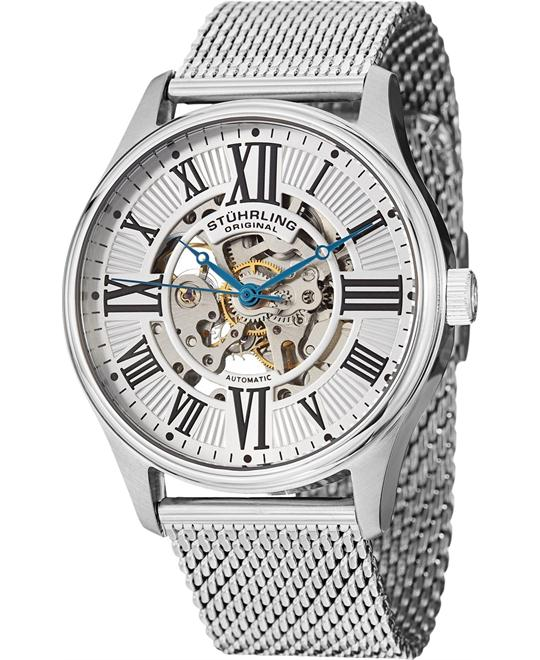 Stuhrling Original Men's 747M.01 Stainless Steel Watch 42mm