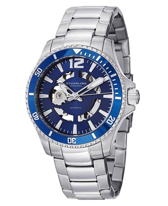 Stuhrling Original Men's  Automatic Skeleton  Watch 42mm