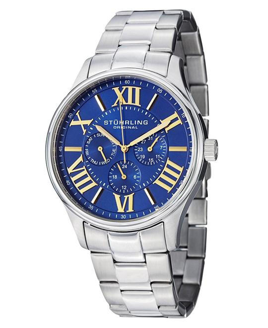 Stuhrling Original Men's 391G.03 Multifunction Watch 44mm