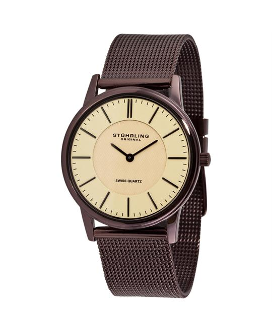 Stuhrling Original Newberry Ultra-slim Swiss Watch 37mm