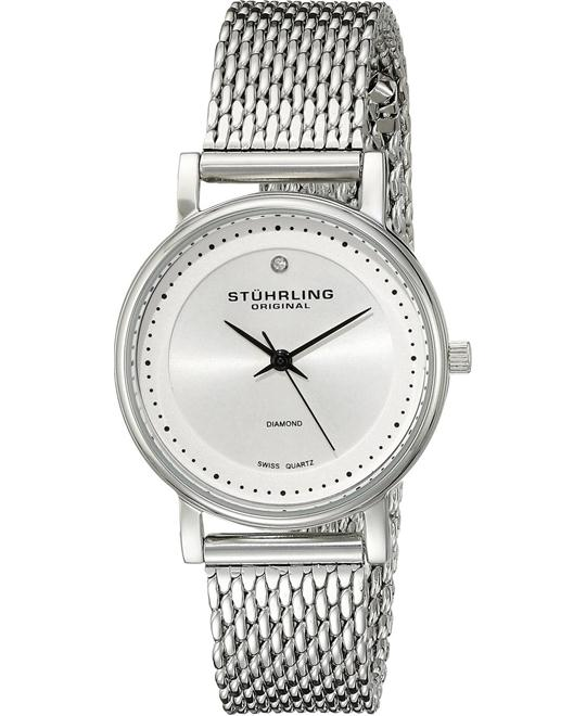 Stuhrling Original Women's 734LM.01 Stainless Steel Watch 29mm