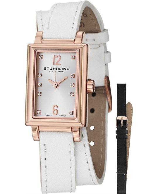 "Stuhrling Original Women's 810.SET.03 ""Audrey Paris"" 16k Watch"