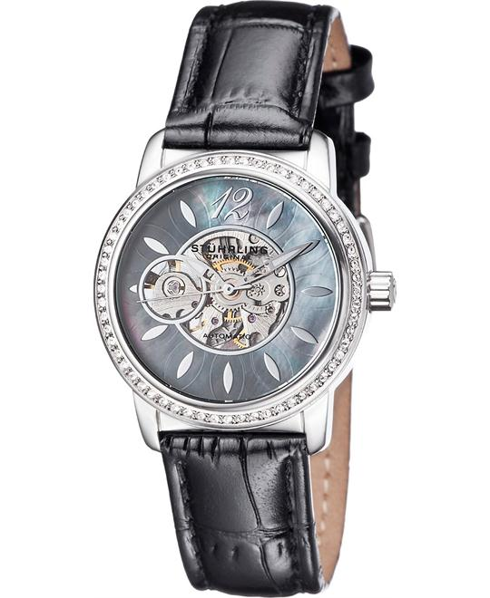 Stuhrling Original Women's 856.02 Delphi Black Watch 34mm