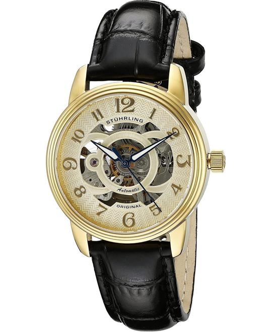Stuhrling Original Women's Gold-Tone  Watch 35mm