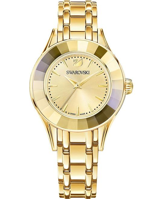 Swarovski  Alegria  Gold Tone Watch 33mm