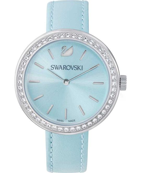 Swarovski Daytime Light Blue Women's Watch 34mm