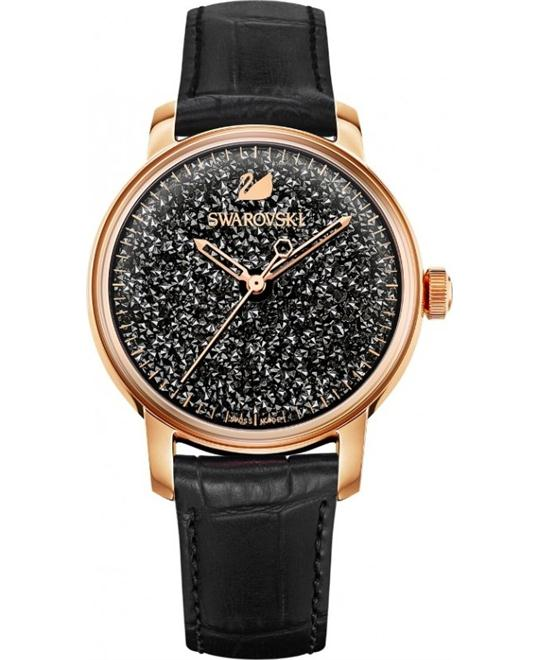 SWAROVSKI CRYSTALLINE HOURS  Black watch 38mm