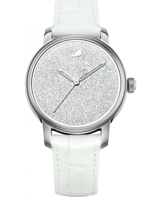 Swarovski Crystalline Hours  White Watch 38mm
