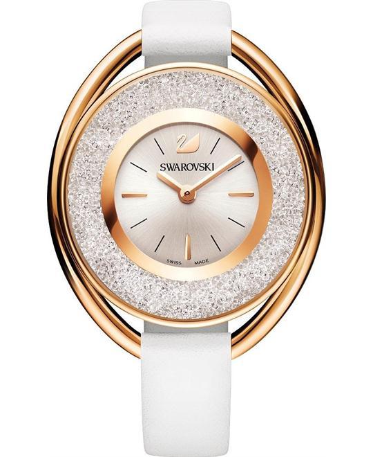 Swarovski Crystalline Oval Ladies Watch 37mm