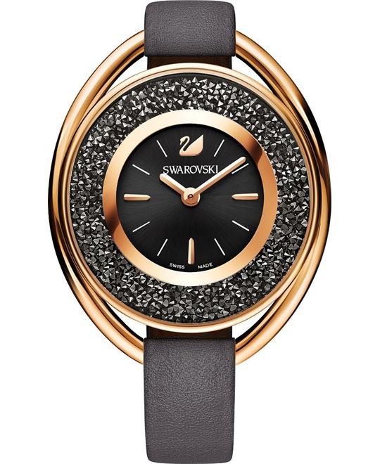 Swarovski Crystalline Oval Ladies Watch 37MM